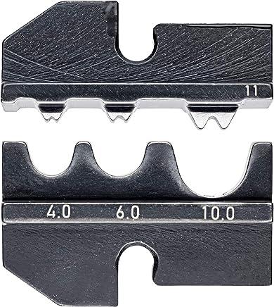 KNIPEX 97 49 11 Crimpeinsatz für unisolierte Quetsch-, Rohr- Rohr- Rohr- und Presskabelschuhe nach DIN 46234 und DIN 46235 sowie unisolierte Quetsch-, Stoß- und Pressverbinder nach DIN 46341 und DIN 46267 B00ICKY6AK | Große Klassifizierung  faab06