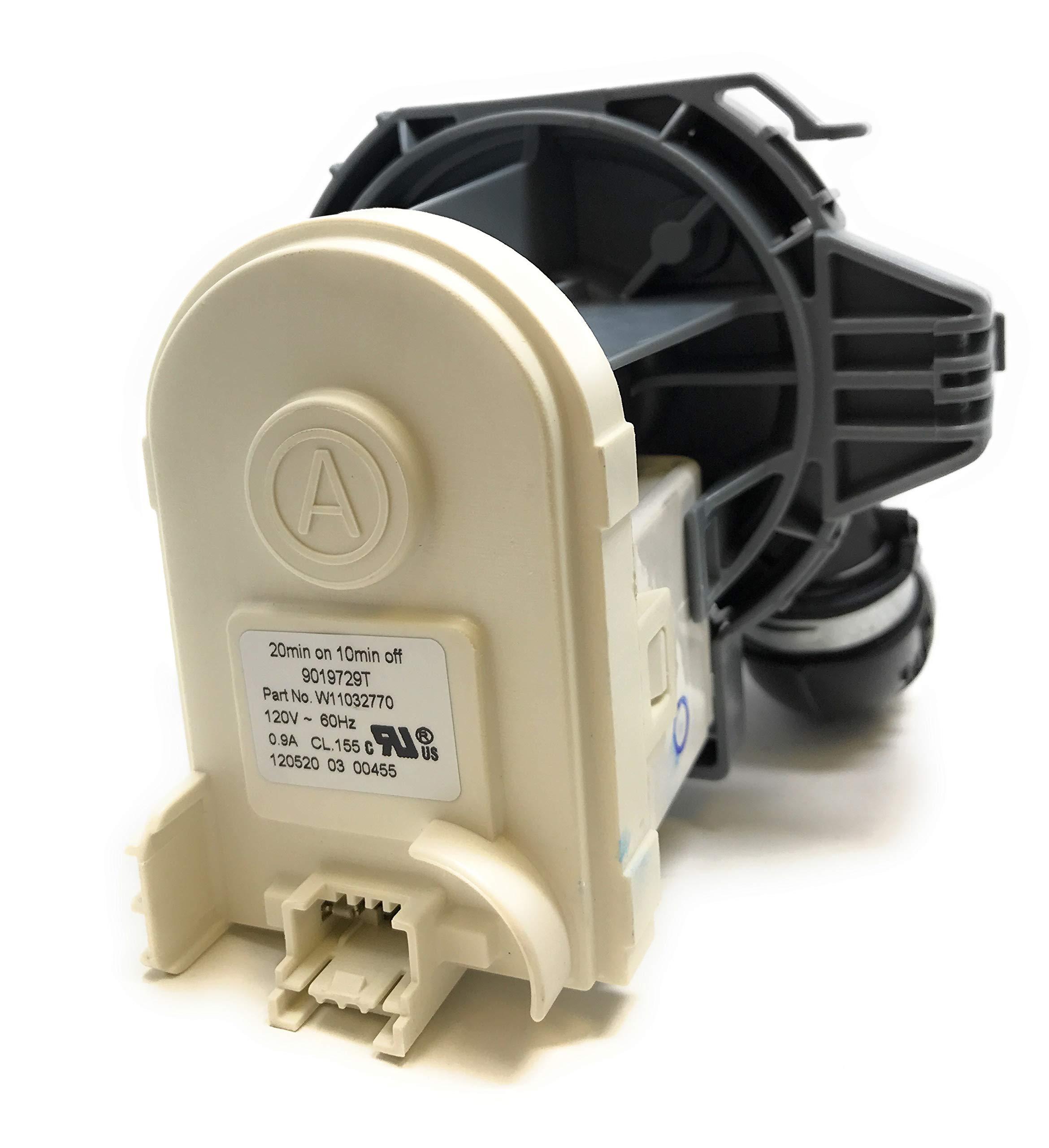 Dishwasher Circulation Pump Oem W11032770 Home Improvement Amazon Com