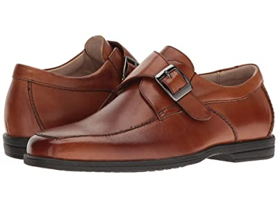 Florsheim Kids Reveal Monk Jr.(Toddler/Little Kid/Big Kid) (Cognac) Boy