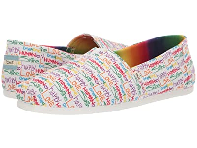 TOMS Seasonal Classics (Multi Unity Print Canvas) Men