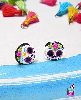 Mexican Jewelry, Catrina earrings
