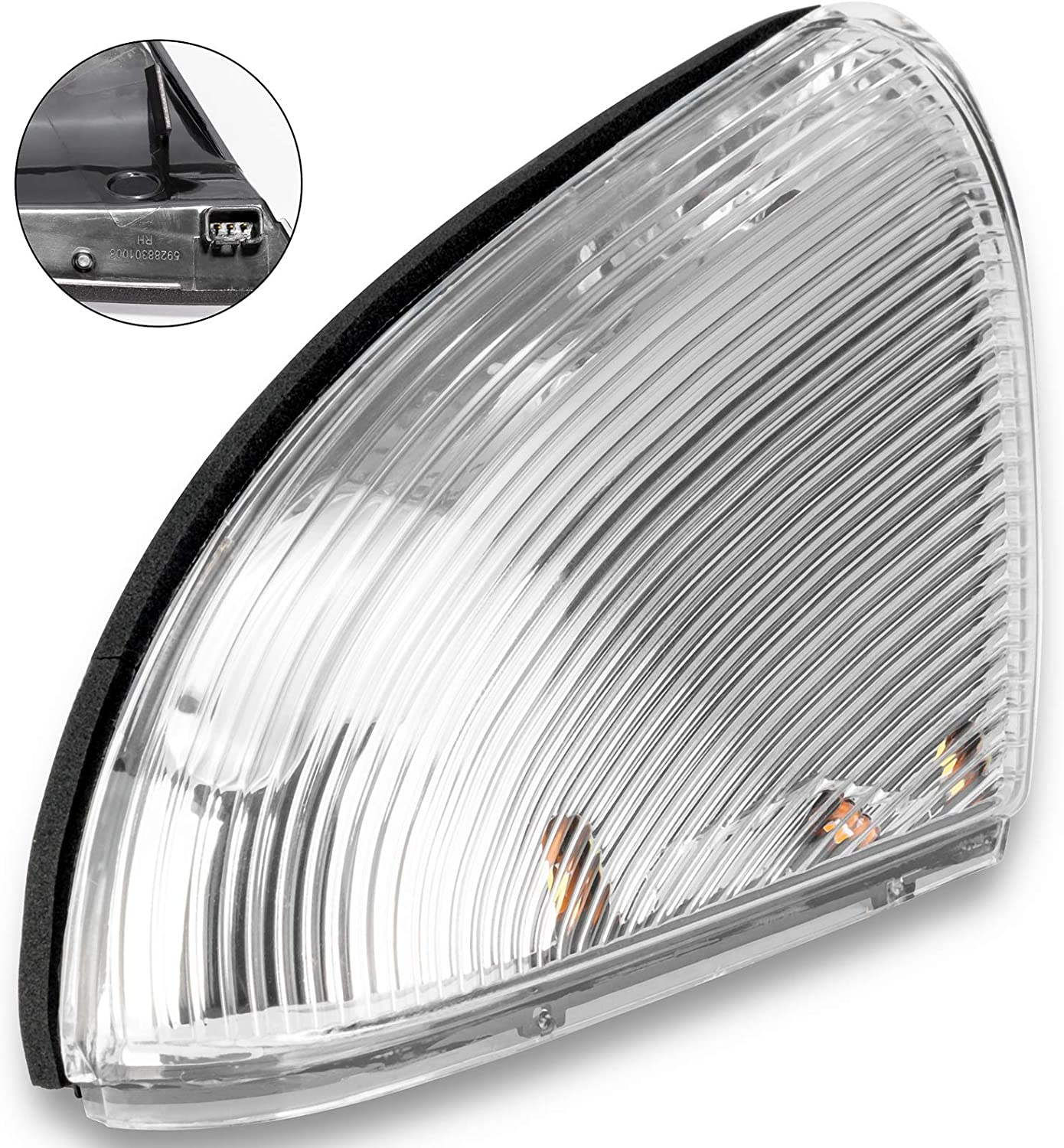 Xiaoyudou Front Luxury goods Passenger Right Side Mirror Signal Lights Turn Baltimore Mall F