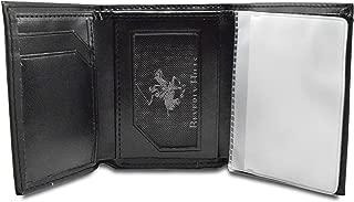 Tri-Fold Wallet Crazy Horse Color Black