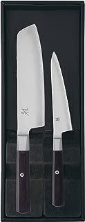 MIYABI(ミヤビ) 4000FC 2pcsセット  菜切り 小刀 包丁セット ギフト 日本製 33961-002