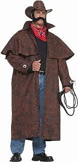 Men's Plus-Size Extra Big Fun Tex Costume Duster Coat