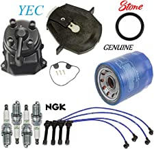 Tune Up Kit Cap Rotor Oil Filters Wire Plugs for Honda Accord L4; 2.3L 1998-2002