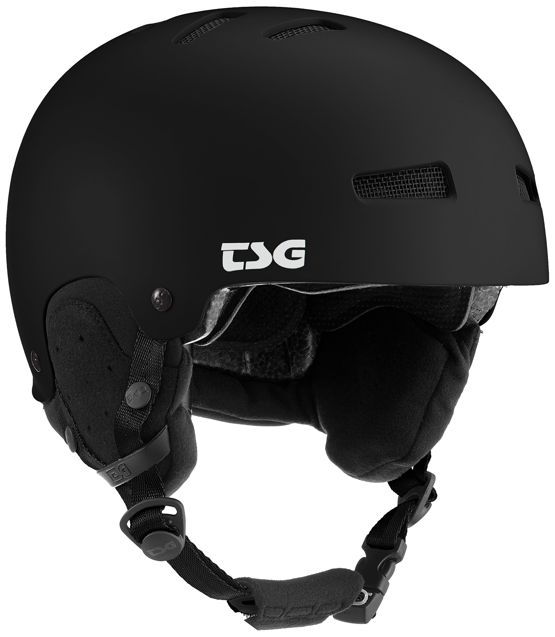 TSG Gravity Solid Color Helm, Satin Black, L/XL