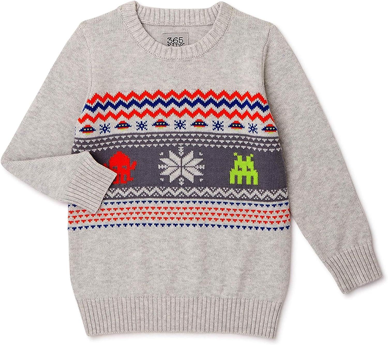 365 Kids from Garanimals Boys Alien Sweater