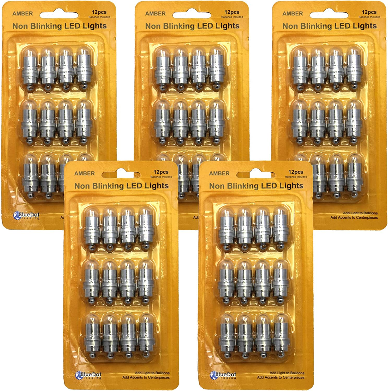 Bluedot Trading Waterproof LED Lights Amber 60 Genuine Free Shipping Max 64% OFF Set of Mini