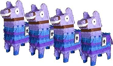 Aztec Mini Llama Pinata Pack (4 pcs.)