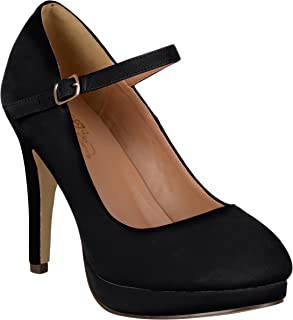 Best black suede platform mary janes Reviews