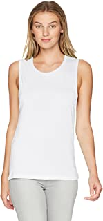 Clementine Apparel Women's Ladies Original Flowy Scoop Muscle Tank