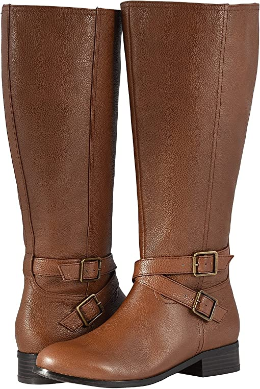 Cognac Soft Tumbled Leather