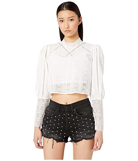 The Kooples English Embroidered Top