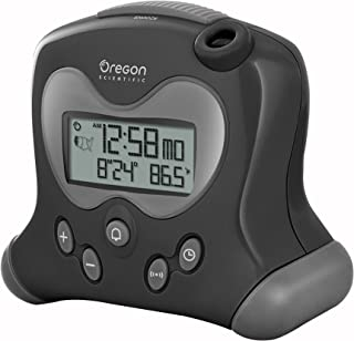 Oregon Scientific RM313PNFA New FLIP projection feature Self-Setting Projection Flip Clock, Black
