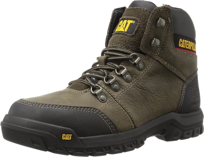 Catepillar Män's Outline Steel Toe Toe Toe Work Boot bspringaaa  upp till 60% rabatt