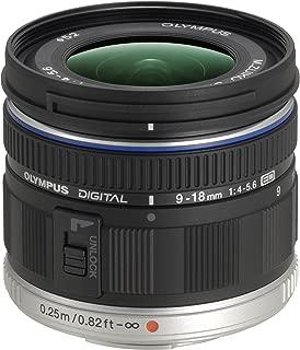 Olympus M.Zuiko Digital ED 9-18mm F4.0-5.6 Lens, for Micro Four Thirds Cameras