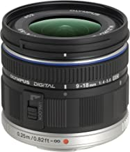 Olympus M.Zuiko Digital ED 9-18mm F4.0-5.6 Lens, for Micro Four Thirds Cameras