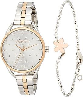 ESPRIT Women's Debi Flower Fashion Quartz Watch - ES1L177M0125