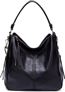 Hobo Bags for Womens,DDDH Vintage Leather Crossbody Shoulder Bucket Bag for Ladies/Girls