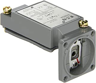 Eaton E50SA Heavy Duty Limit Switch Body, Panel Mounting Type, Single Pole, Full Size, SPST-1NO/1NC Contacts