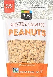 365 Everyday Value, Peanuts, Roasted & Unsalted, 16 oz