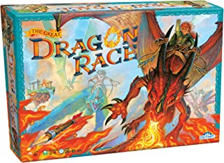 Fantasy Board Game - the Great Dragon Race - To the Victor Goes the Treasure