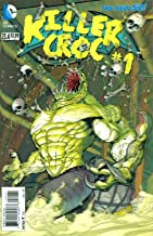 Batman and Robin #23.4 Killer Croc (3D Cover)