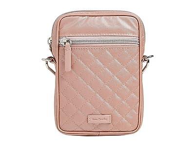 Vera Bradley RFID Convertible Small Crossbody (Rose Quartz) Handbags