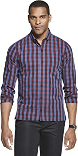 Van Heusen Men's Never Tuck Slim Fit Shirt