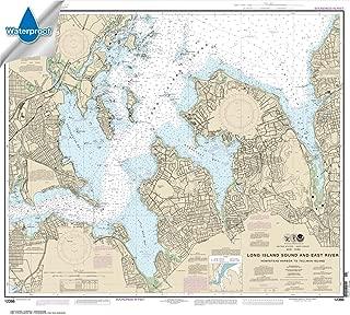 Paradise Cay Publications NOAA Chart 12366: Long Island Sound and East River Hempstead Harbor to Tallman Island 33.3 x 37 (WATERPROOF)