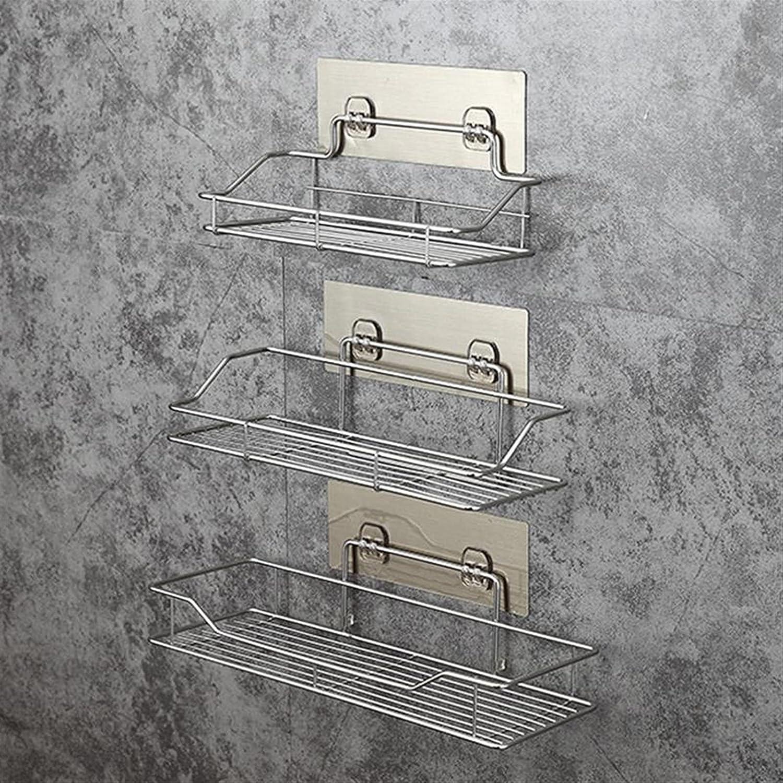 HEHXKJ Excellent Bathroom Shelf Stainless Pun Steel Sale item Storage