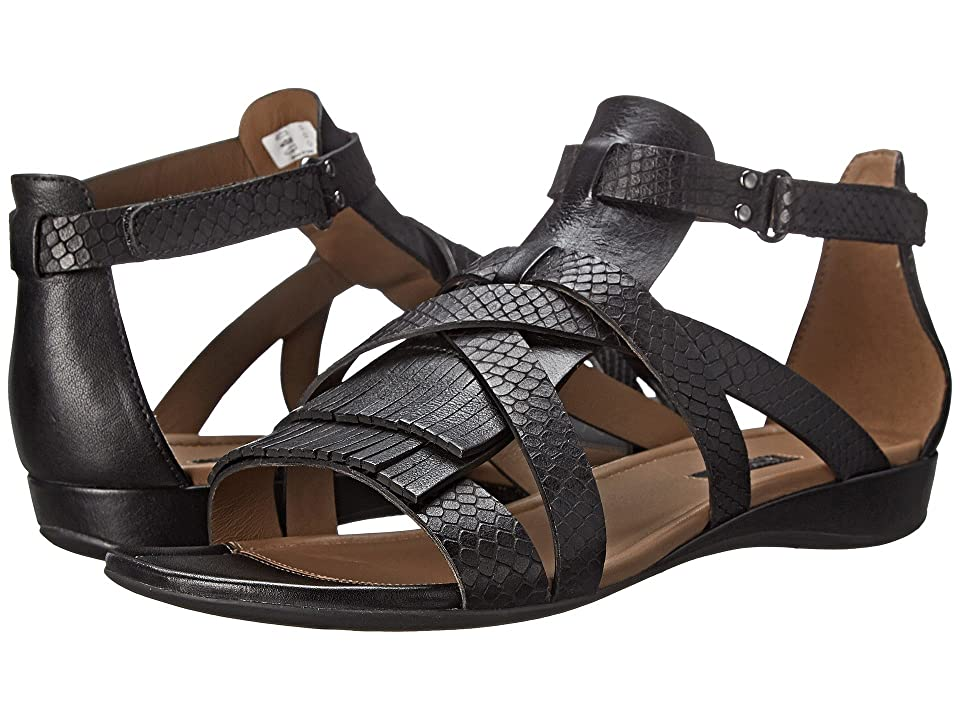 ECCO Bouillion Sandal II Gladiator (Black/Black) Women