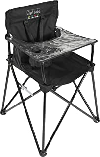 ciao! baby Portable High Chair for Travel, Frustration Free Fold Up High Chair with Easy..