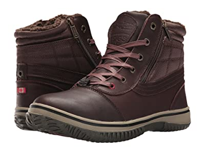 Pajar CANADA Tavin (Dark Brown Leather) Men