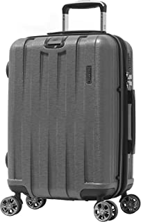 "Olympia Sidewinder 21"" Exp. Carry-On Spinner (8-Wheel) w/TSA Lock, GRAY, 21 inch"