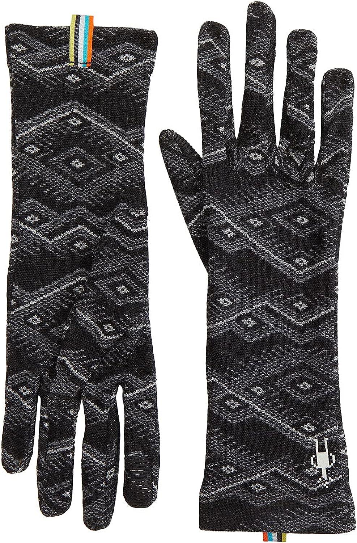 Smartwool Merino 250 Pattern Gloves Black Mountain Fair Isle XS