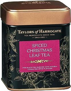Taylors of Harrogate Spiced Christmas Loose Leaf, 4.41 Ounce Tin