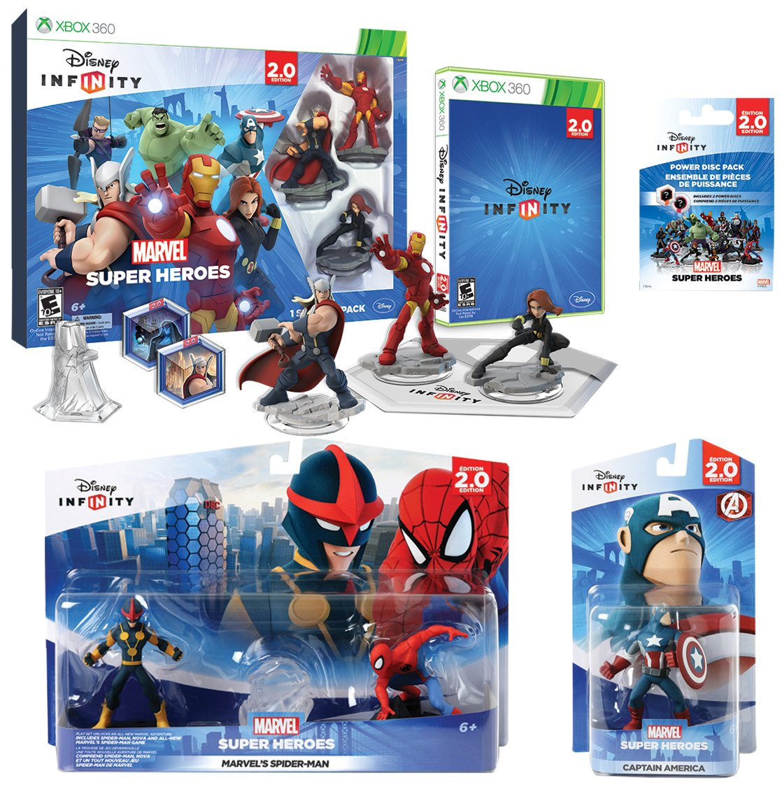 Infinity 2.0 Marvel Value 360 sale Pack Xbox shop