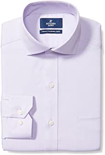Marchio Amazon - Buttoned Down - Tailored Fit Cutaway Collar Solid Non-iron Dress Shirt, Camicia Uomo