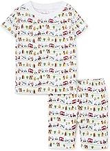 Kissy Kissy Baby-Boys Infant Traffic Print Short Pajamas Set