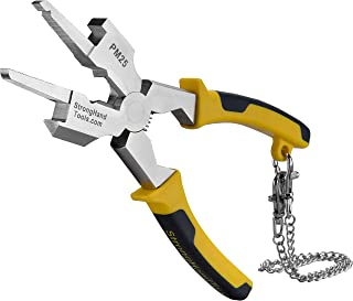 Strong Hand Tools, Deluxe MIG Welding Pliers, Slag Hammer, Flat Face Hammer, Scraper, Fine & Coarse Files, Side Pull V-Not...