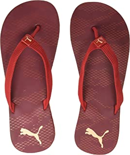 Puma Men's Pomegranate-Ribbon Red-Dusty Coral Flip-Flop (36833305)