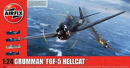 Airfix Grumman F6F-5 Hellcat 1:24 WWII Military Aviation Plastic Model Kit A19004