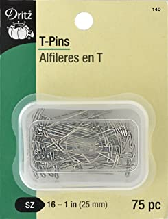 Dritz 140 T Pins, 1-Inch (75-Count)