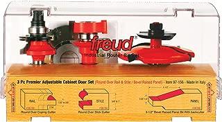 Freud 3 Piece Premier Adjustable Cabinet Bit Set (97-156)