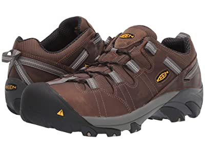 Keen Utility Detroit Low Steel Toe (Cascade Brown) Men
