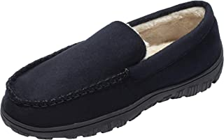 CareBey Mens Indoor Outdoor Moccasin