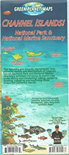 Channel Islands National Park & Marine Sanctuary Adventure Recreation Waterproof Map by Green Planet Maps