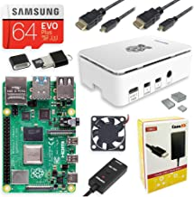 CanaKit Raspberry Pi 4 Starter MAX Kit - 64GB Edition
